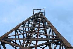 Boor toren Royalty-vrije Stock Foto's