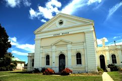 Boorowa Court House. This lovely building is in country NSW (Australia) and is a great example of early 1900's archiitecture royalty free stock photos