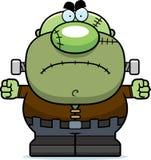 Boos Beeldverhaal Frankenstein stock illustratie