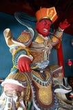 Boos boeddhistisch standbeeld Stock Fotografie