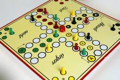 Boos het cijfer boardgame geluk van het spelspel Stock Afbeelding