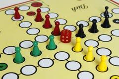 Boos het cijfer boardgame geluk van het spelspel Royalty-vrije Stock Fotografie