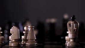 Boos schaak stock videobeelden