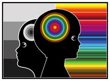 Boost Brain Power. Stimulate the brain cells and brain power of children in early childhood education Royalty Free Stock Photo