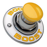 Boost Button Royalty Free Stock Image
