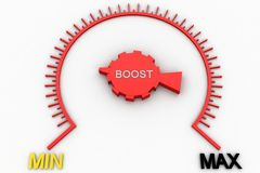 Boost meter Stock Photos
