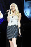 Boost Mobile Rock Corps. Heidi Montag at the Boost Mobile Rock Corps at the Gibson Amphitheatre in Universal City CA Stock Photo