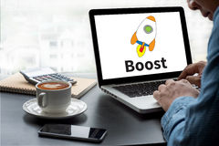 Boost Stock Photography
