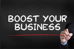 BOOST YOUR BUSINESS Stock Images