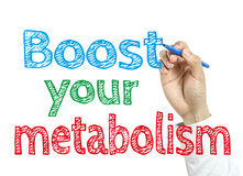 Boost Your Metabolism Royalty Free Stock Images
