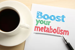 Boost Your Metabolism Royalty Free Stock Photos
