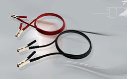 Booster cable Stock Images