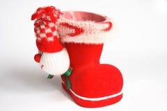 boot красный цвет Стоковое Изображение RF