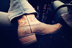 The Boot. A boot is capture amongst the discussion Stock Photography