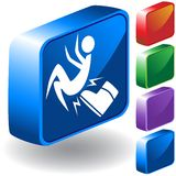 Boot 3D Icon Royalty Free Stock Photos