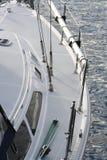 Boot am Abend Stockbild