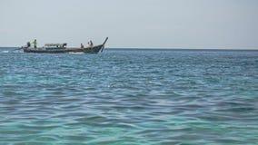 Boot in Adang-Insel, Andaman-Meer, das südliche von Thailand Lizenzfreie Stockfotos
