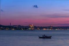 Boot auf dem Marmara-Meer Lizenzfreie Stockfotografie
