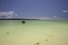 Boot auf dem Meer Lizenzfreies Stockbild