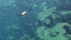 Boot auf dem Meer stock video footage