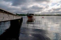 Boot auf dem See Lizenzfreie Stockfotografie