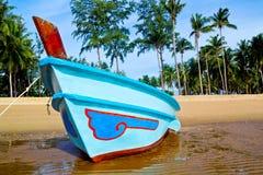Boot auf dem Strand Lizenzfreies Stockfoto