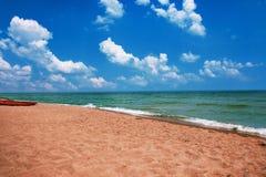 Boot auf dem Strand Sehen Sie meine anderen Arbeiten im Portfolio Stockfoto