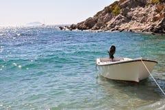 Boot auf einem Strand Lizenzfreies Stockbild