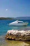 Boot auf Meer Lizenzfreie Stockbilder