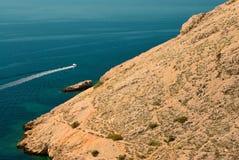Boot auf Meer Lizenzfreie Stockfotos