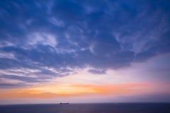 Boot auf Ozean Stockbilder