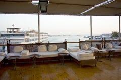 Boot auf See Nasser Stockfotografie