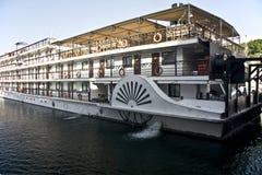 Boot auf See Nasser Lizenzfreie Stockfotos
