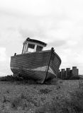 Boot auf Strand Stockfotografie