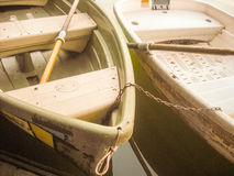 Boot auf Wasser Lizenzfreie Stockbilder