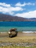 Boot in Bahia Concha royalty-vrije stock foto