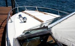 Boot bij Dok Stock Foto's
