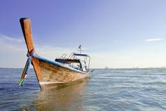 Boot bij het strand. Royalty-vrije Stock Foto's