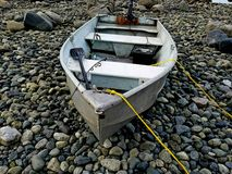 Boot bij het strand Royalty-vrije Stock Foto