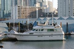 Boot in botenhuis Royalty-vrije Stock Fotografie