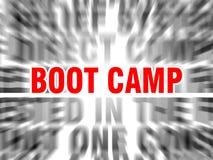 boot camp stock illustration