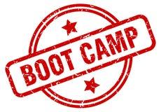 boot camp stamp stock illustration