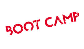 Boot Camp rubber stamp Royalty Free Stock Photo