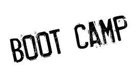 Boot Camp rubber stamp Stock Image