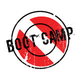 Boot Camp rubber stamp Royalty Free Stock Photography