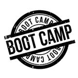 Boot Camp rubber stamp Royalty Free Stock Photos