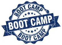 Boot camp seal. stamp. Boot camp round seal isolated on white background. boot camp vector illustration