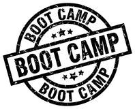 boot camp stamp royalty free illustration