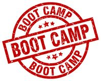Boot camp stamp. Boot camp grunge vintage stamp isolated on white background. boot camp. sign royalty free illustration