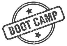 boot camp stamp vector illustration